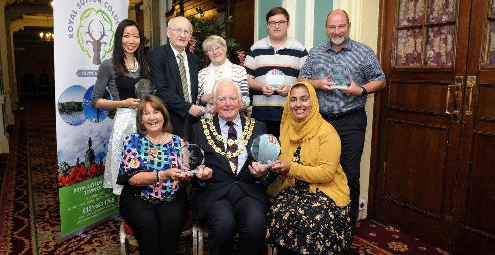 Community awards all winners